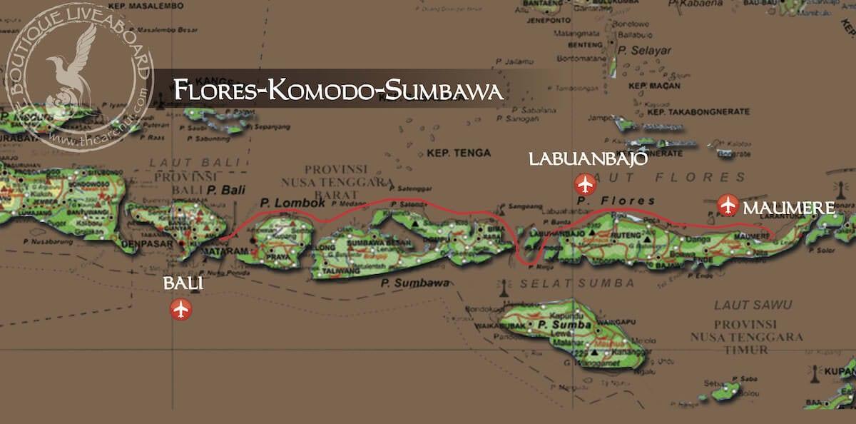 FLORES-KOMODO-SUMBAWA Maumere-Bali 14 Days-13 Nights